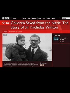 从纳粹手中救出的孩子们